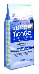 4145 MONGE Dog All breeds Adult Anchovies&Potato&Peas 30/20 - Grain Free
